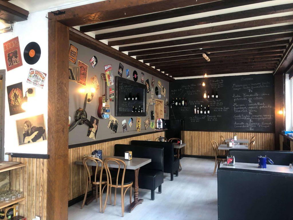 L'Ambroisie - Salle de restaurant